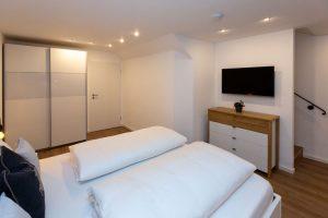 SChlafzimmer, Fernseher